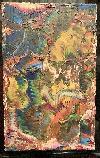 Ruth Rebecca Fischer-Beglücker,-absztakt festmény